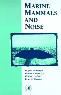Marine Mammals and Noise book cover